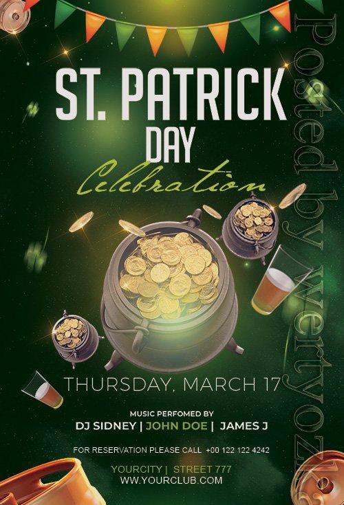 St Patrick's Day - Premium flyer psd template