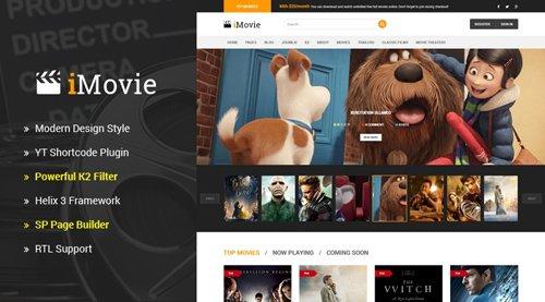 SmartAddons - Sj iMovie v3.9.6 - Responsive Multipurpose Movies, Entertainment Joomla Template