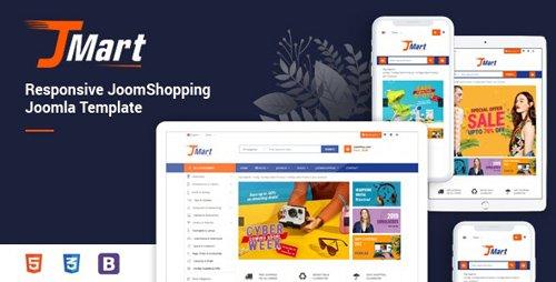 ThemeForest - JMart v1.0.0 - Multipurpose JoomShopping eCommerce Joomla 3.9.6 Template - 24756551