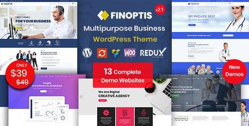 ThemeForest - Finoptis v2.1 - Multipurpose Business WordPress Theme - 22999222
