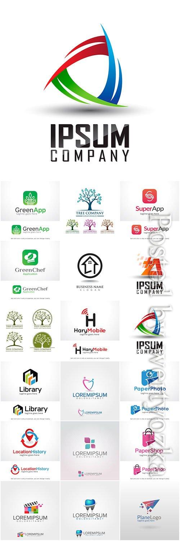 Vector logo design collection