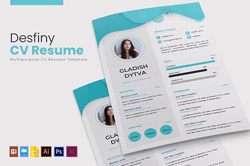 Desfiny | CV & Resume