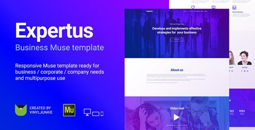 ThemeForest - Expertus v1.0 - Business / Corporate / Company Responsive Muse Template - 20308923