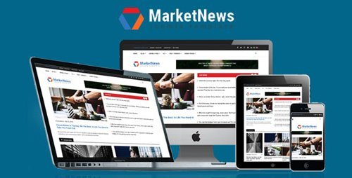ThemeForest - MarketNews v3.9.6 - Responsive Financial & Business News Joomla Template - 21942252