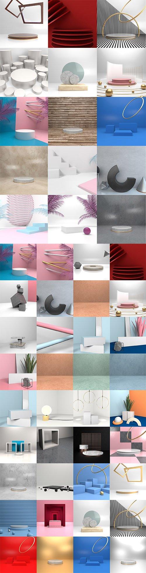 Product Showcase Background Bundle