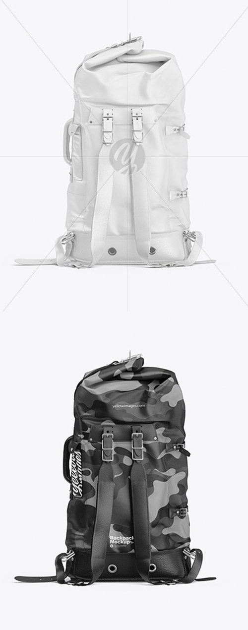 Backpack Mockup 54796 TIF