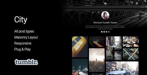 ThemeForest - City v1.2.1 - High Quality Portfolio Tumblr Theme - 11400608