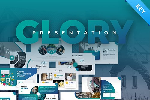 Glory Business Pack Keynote Template