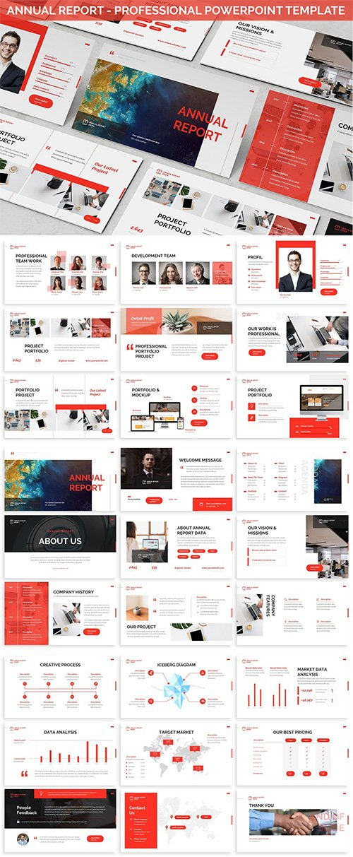 Annual Report - Professional Powerpoint Template