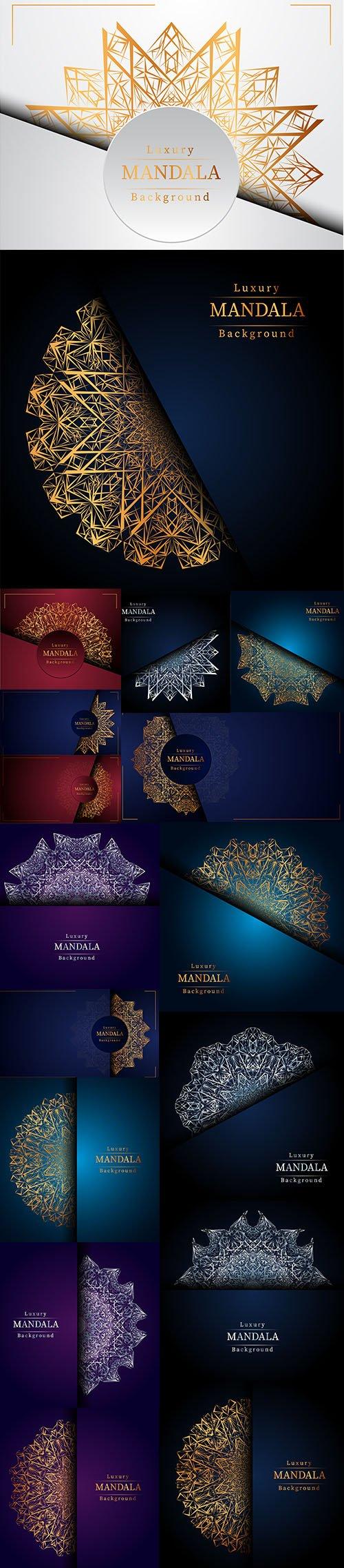 Creative Luxury Mandala Illustrations Premium Set