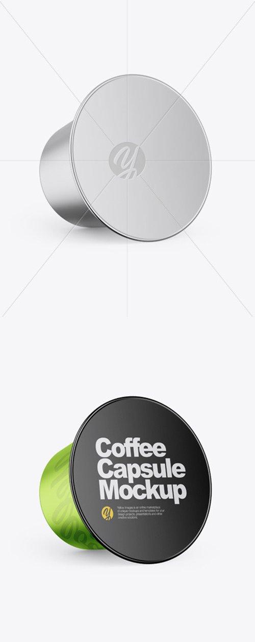 Glossy Metallic Coffee Capsule Mockup 54056 TIF