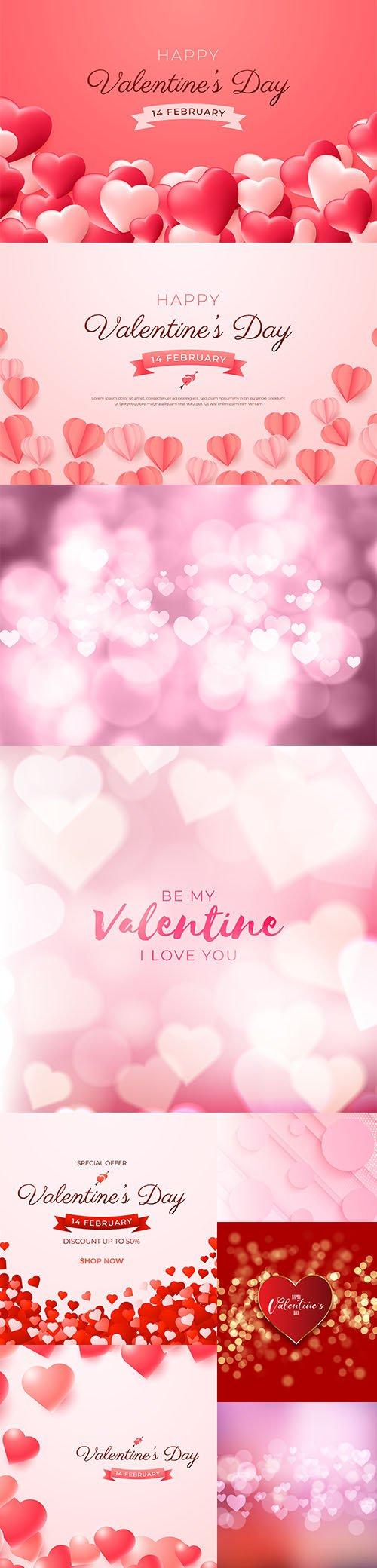 Valentines Day Premium Illustrations Vector Set