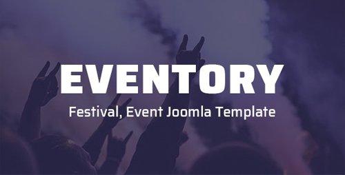 ThemeForest - Eventory v2.0.0 - Festival, Event Joomla Template - 25506966