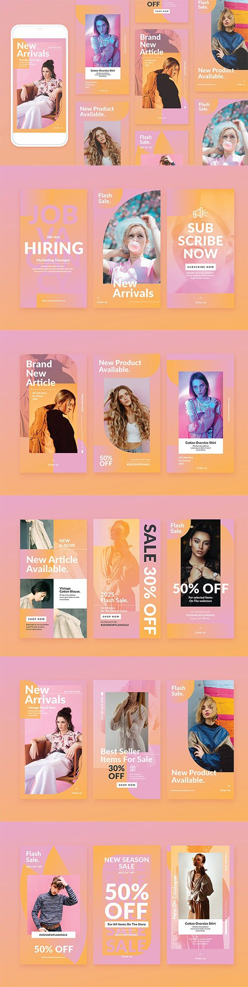 Fashion Instagram Template
