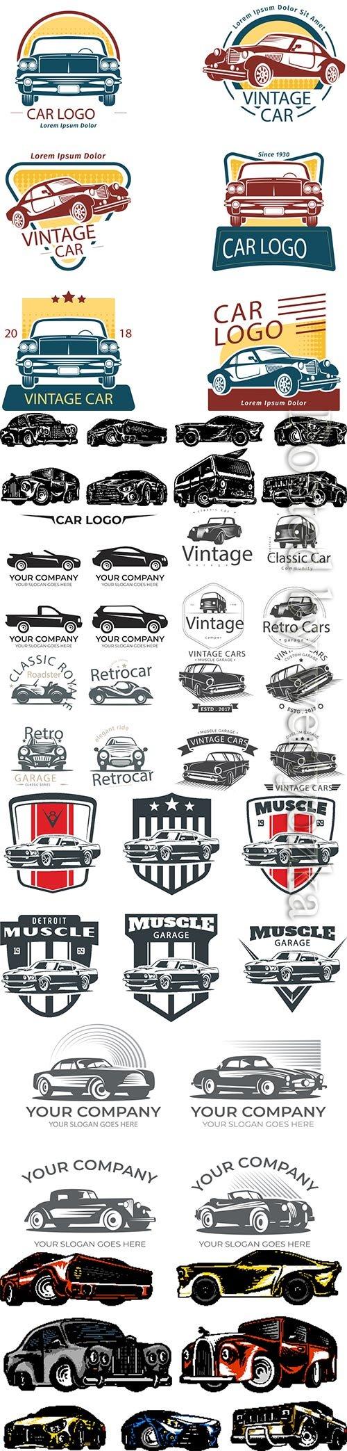 Car logo vector collection