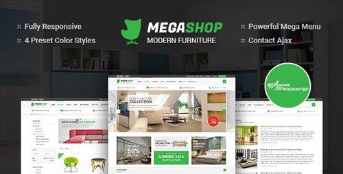 ThemeForest - MegaShop v3.9.6 - Multipurpose Responsive Joomla Template - 9553380