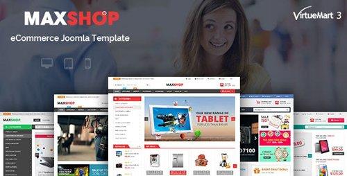 ThemeForest - Maxshop v3.9.6 - Multipurpose eCommerce Joomla Template - 13550359