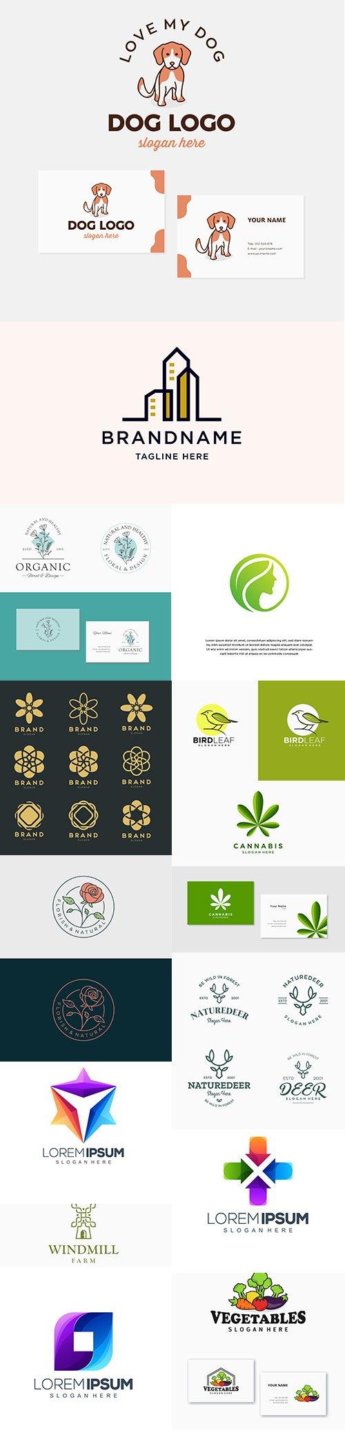 Simple Modern Design Logo Template