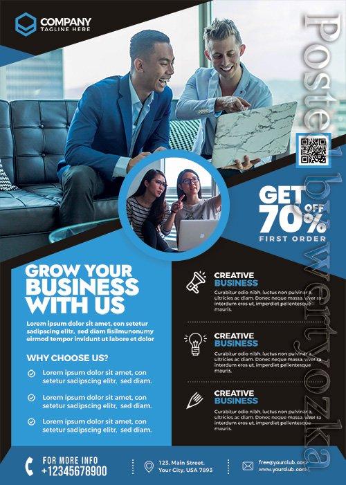 Business Corporate - Premium flyer psd template