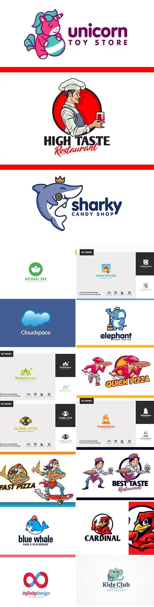 Big Bundle of Modern Logo Template