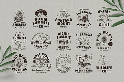15 Nature & Adventure Badges
