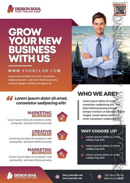 Corporate Business Promotion - Premium flyer psd template