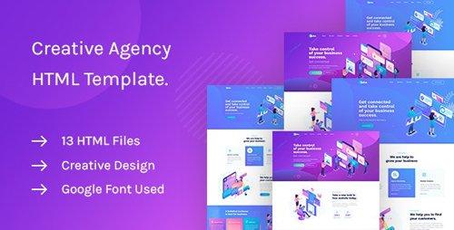 ThemeForest - Saku v1.0 - Agency And Business HTML Template - 25499004