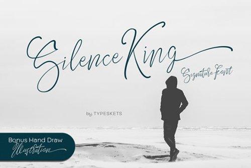 Silence King Font