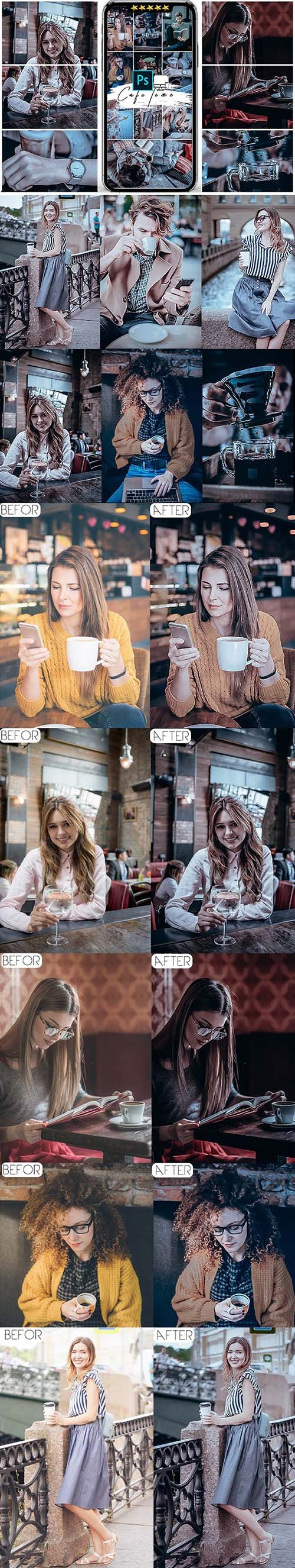 Cafe Mood Photoshop Actions 25596485