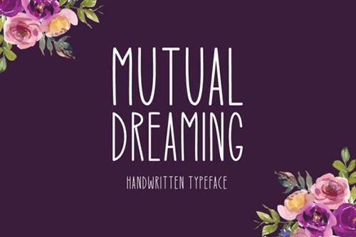 Mutual Dreaming Font