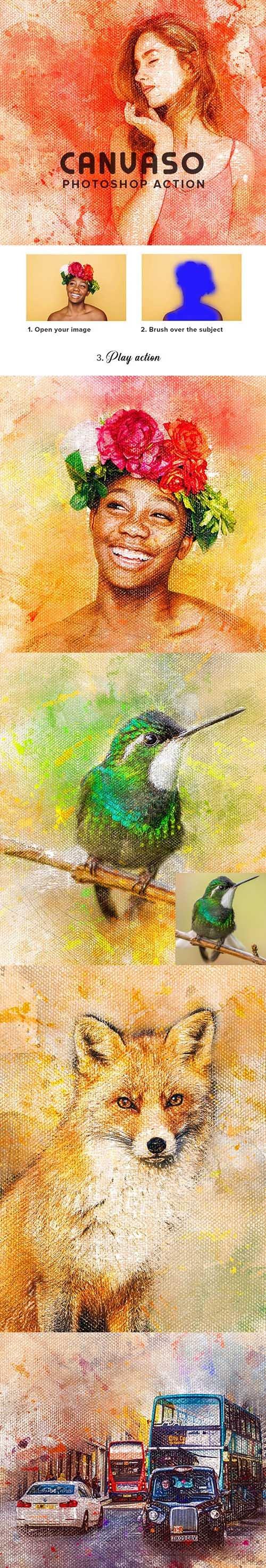 Canvaso Photoshop Action 25596185