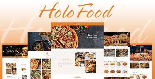 ThemeForest - HoloFood v1.0.0 - Fast Food & Restaurant Shopify Theme - 25570363
