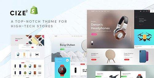 ThemeForest - Cize v1.0.0 - Electronics Store Shopify Theme - 25363939