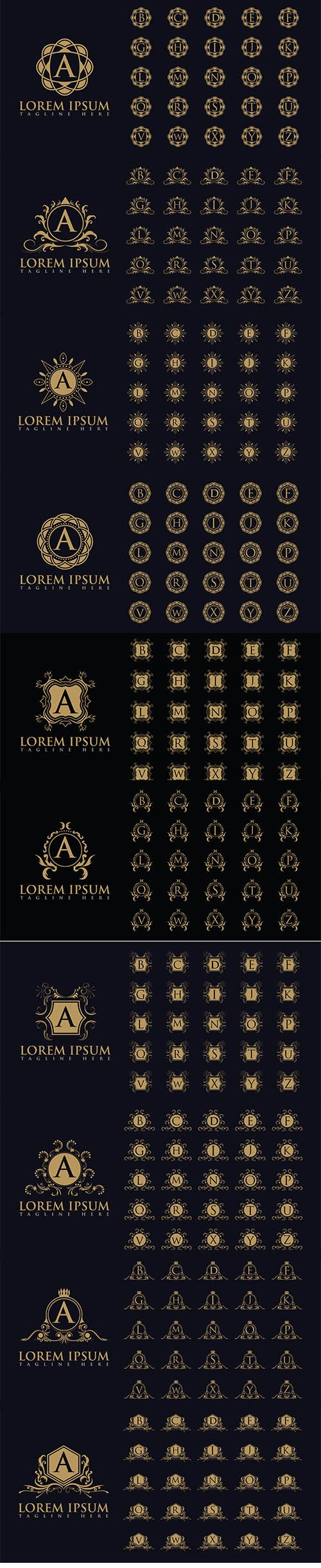 Luxurious Letters Logo