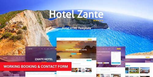 ThemeForest - Hotel Zante v1.3 - Hotel HTML Template (Update: 16 July 19) - 19229009