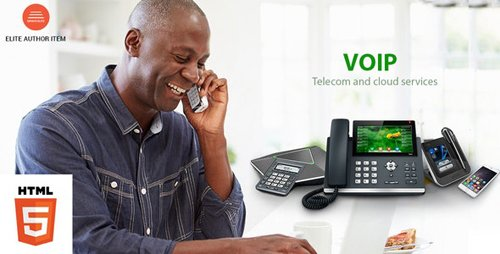 ThemeForest - VOIP v1.0 - Telecom and Cloud Services HTML Template - 21155347