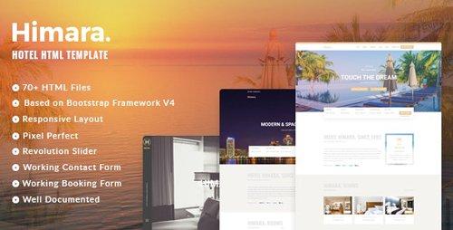 ThemeForest - Himara v1.2.0 - Hotel Booking Template (Update: 25 September 19) - 21432156