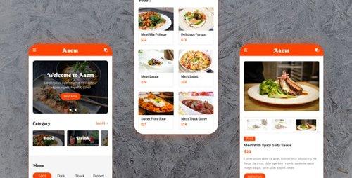 ThemeForest - Aaem v1.0 - Cafe Restaurant Mobile Template (Update: 18 February 20) - 21492190
