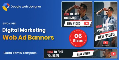 CodeCanyon - Digital Marketting Banners GWD v1.0 (Update: 18 February 20) - 24054646