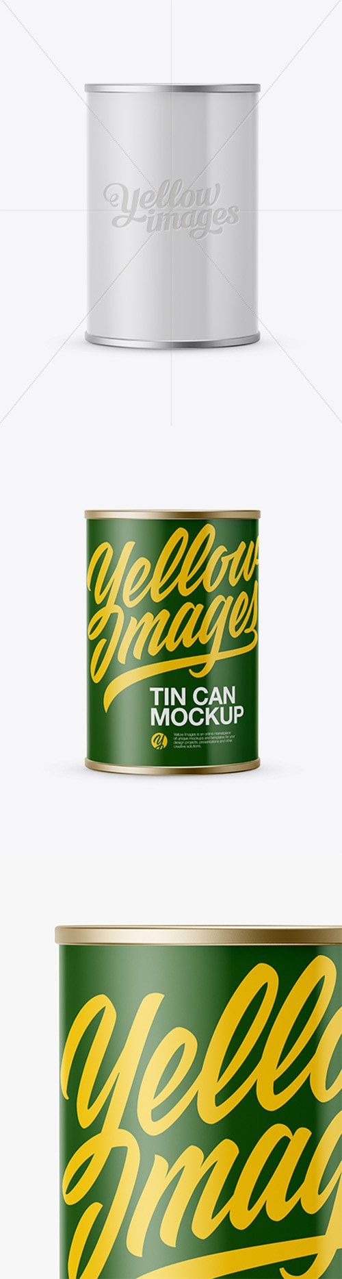 Tin Can With Paper Label Mockup 19036 TIF