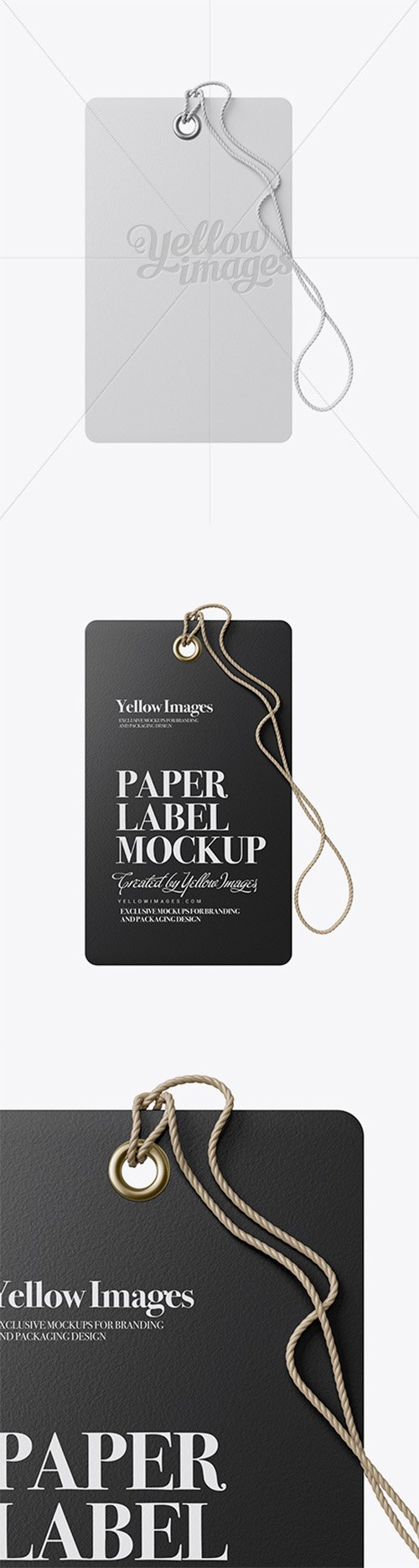 Paper Label With Rope Mockup 19060 TIF