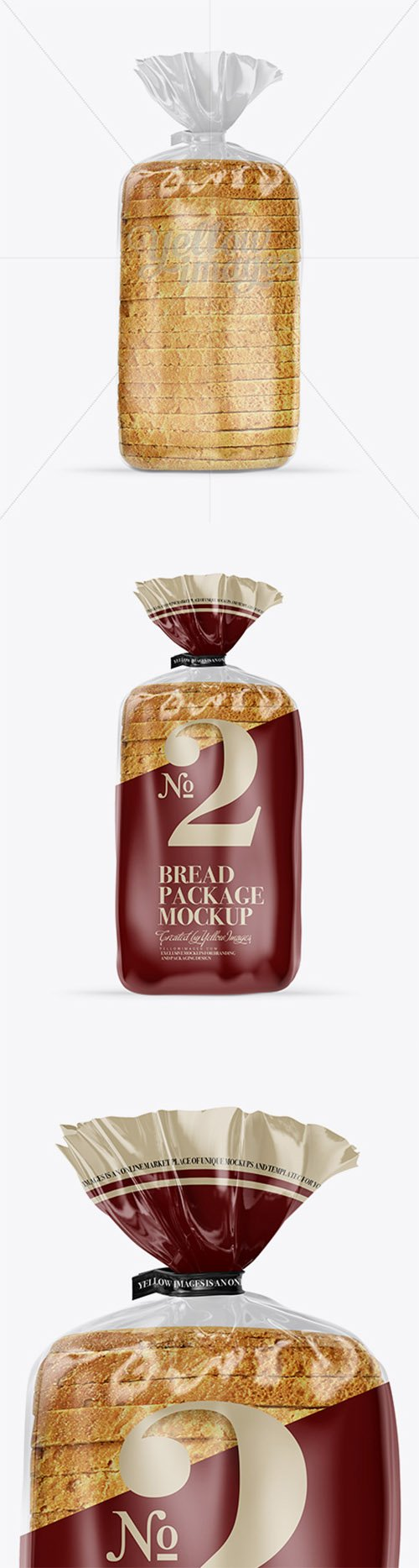 Bread Package With Clip Mockup 18306 TIF