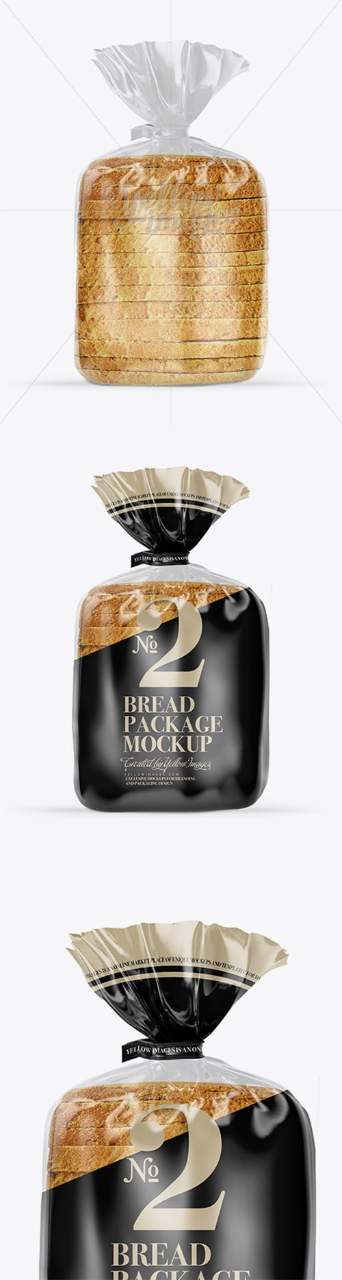 Bread Package With Clip Mockup 18312 TIF