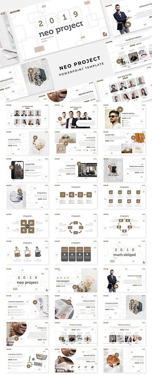 Neo Project - PowerPoint, Keynote and Google Slides Template