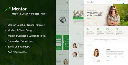 ThemeForest - Mentor v2.2.2 - Personal Development Coach WordPress Theme - 15019904