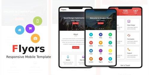 ThemeForest - Flyors v1.0 - Responsive Mobile Template - 21777270