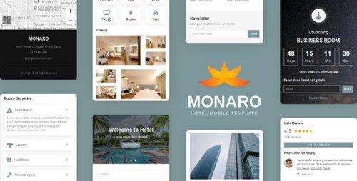 ThemeForest - Monaro v1.0 - Hotel Mobile Template (Update: 18 February 20) - 22868421