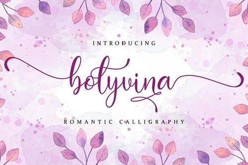 Bolyvina Font