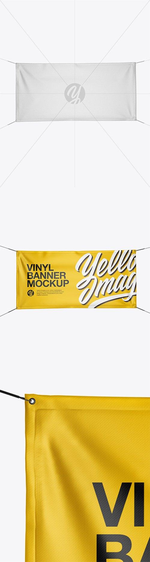 Glossy Vinyl Banner Mockup 22051 TIF