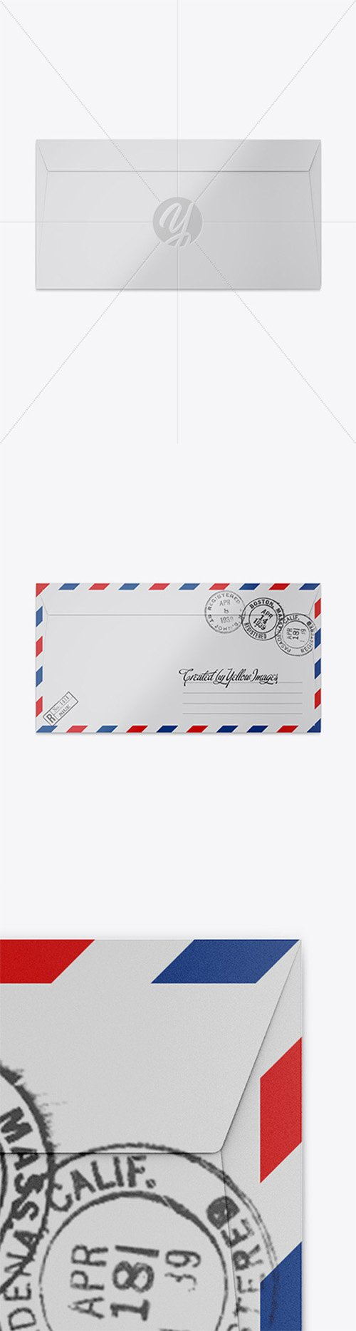 Paper Envelope Mockup 23436 TIF